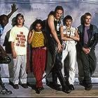 Matthew Lillard, Angelina Jolie, Jonny Lee Miller, Jesse Bradford, Laurence Mason, and Renoly Santiago in Hackers (1995)