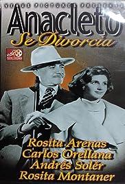 Anacleto se divorcia Poster