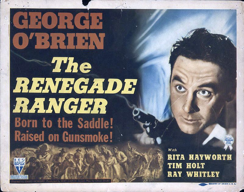 George O'Brien in The Renegade Ranger (1938)