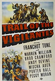 Trail of the Vigilantes Poster