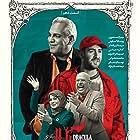 Mehran Modiri, Sima Tirandaz, Mohammad Bahrani, and Nima ShabanNejad in Dracula (2021)