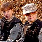Hope (left), explosives expert played by actress Candace Janee and Hollywood (right), communications played by actress Kristen Lewis