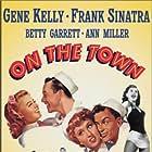 Gene Kelly, Frank Sinatra, Betty Garrett, Ann Miller, Jules Munshin, and Vera-Ellen in On the Town (1949)