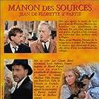 Emmanuelle Béart, Daniel Auteuil, and Yves Montand in Manon des sources (1986)