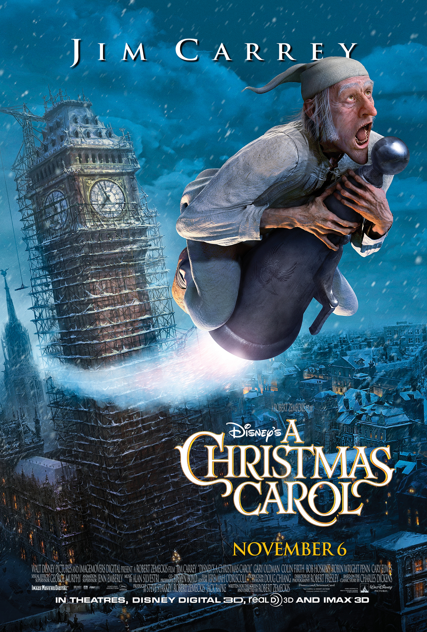 a christmas carol 2009 imdb - Best Christmas Carol Movie