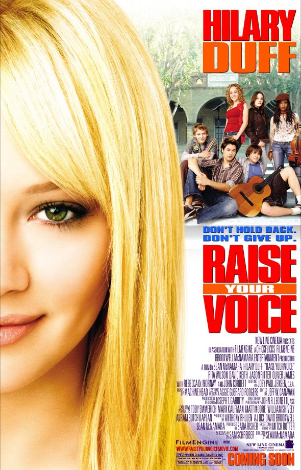 What movies does hilary duff play in