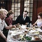 John Belushi, Dan Aykroyd, Cathy Moriarty, Lauren-Marie Taylor, and Kathryn Walker in Neighbors (1981)