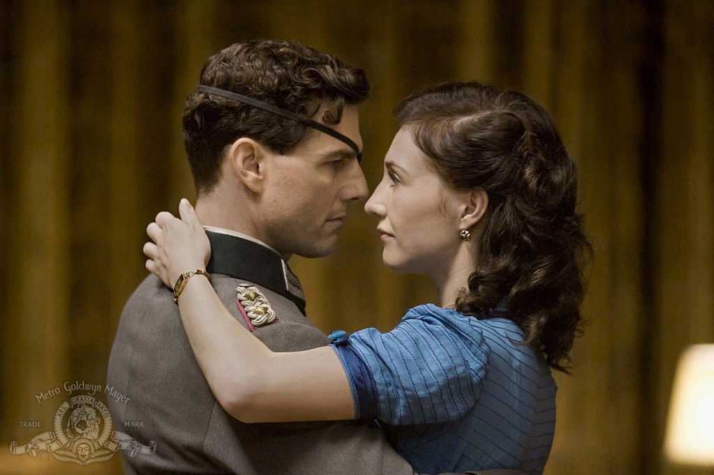 Tom Cruise and Carice van Houten in Valkyrie (2008)