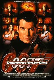 Pierce Brosnan, Teri Hatcher, Jonathan Pryce, and Michelle Yeoh in Tomorrow Never Dies (1997)