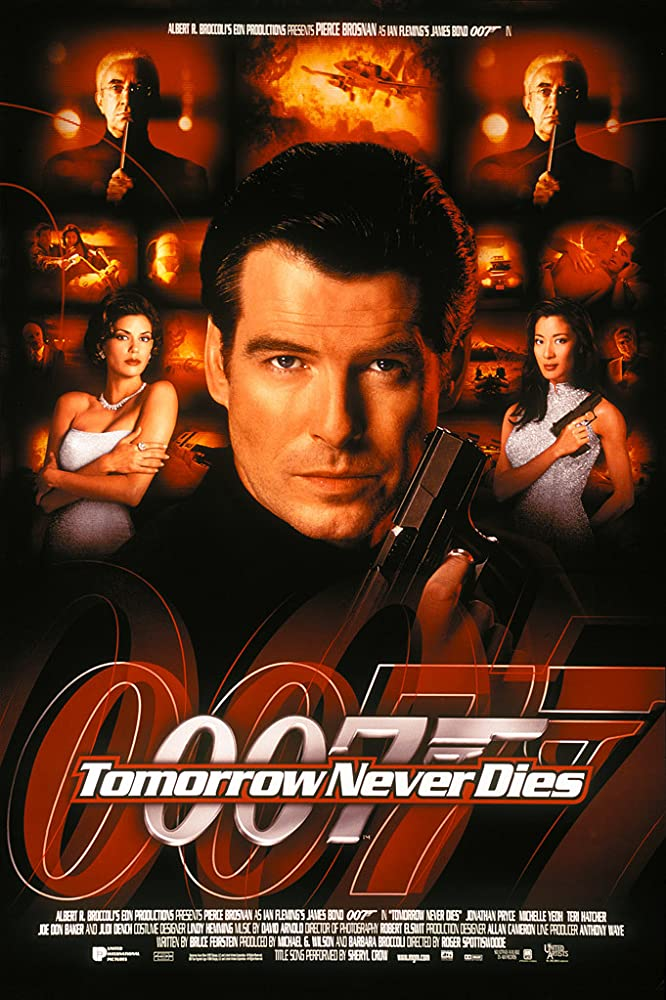 e74c56cac7bcd Pierce Brosnan, Teri Hatcher, Jonathan Pryce, and Michelle Yeoh in Tomorrow  Never Dies