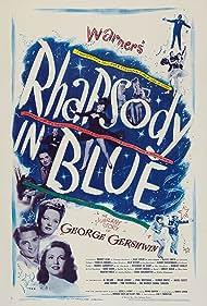 Robert Alda, Joan Leslie, and Alexis Smith in Rhapsody in Blue (1945)