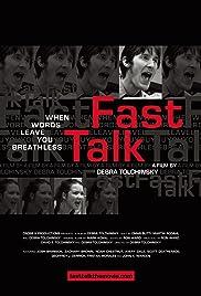 Fast Talk Poster