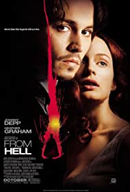 Johnny Depp and Heather Graham in From Hell (2001)