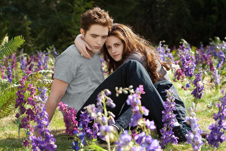 Kristen Stewart and Robert Pattinson in The Twilight Saga: Breaking Dawn - Part 2 (2012)