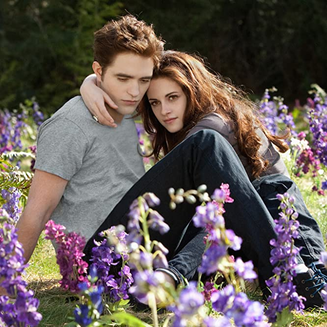 Kristen Stewart and Robert Pattinson in The Twilight Saga: Breaking Dawn - Part 2 (2012)