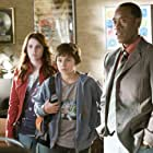 Don Cheadle, Emma Roberts, and Jake T. Austin in Hotel for Dogs (2007)