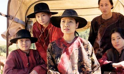 Valerie Tian, Gwendoline Yeo, Caroline Chan, Olivia Cheng, and Jadyn Wong in Broken Trail (2006)
