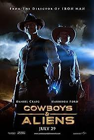 Harrison Ford and Daniel Craig in Cowboys & Aliens (2011)