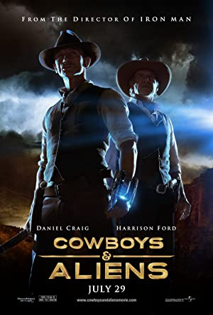 Sci-Fi Cowboys & Aliens Movie