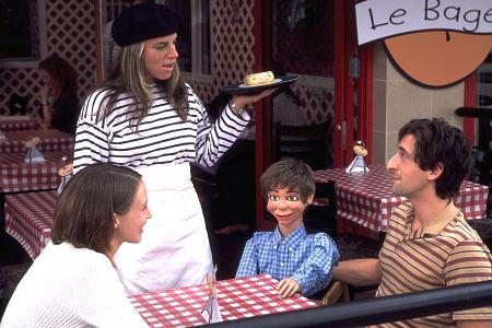 Adrien Brody and Vera Farmiga in Dummy (2002)