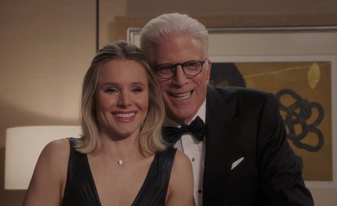 Ted Danson and Kristen Bell in Help Is Other People (2019)