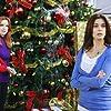 Teri Hatcher, Felicity Huffman, Marcia Cross, Eva Longoria, and Kevin Rahm in Desperate Housewives (2004)