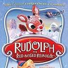 Carl Banas, Corinne Conley, Stan Francis, Burl Ives, Larry D. Mann, Billie Mae Richards, Alfie Scopp, and Paul Soles in Rudolph the Red-Nosed Reindeer (1964)