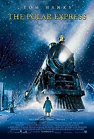 Tom Hanks, Daryl Sabara, and Josh Hutcherson in The Polar Express (2004)