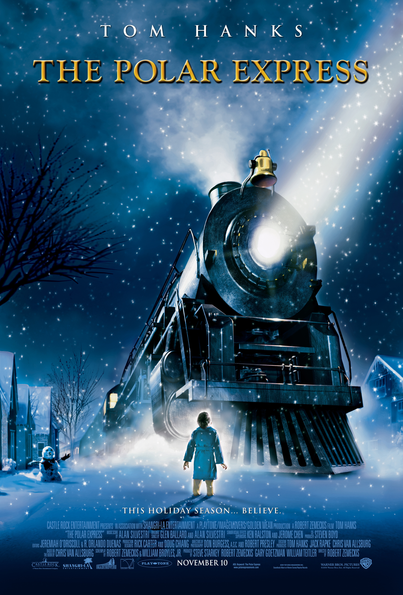 The Polar Express (2004) BluRay 480p, 720p & 1080p