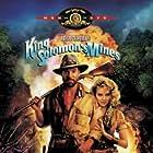 Sharon Stone and Richard Chamberlain in King Solomon's Mines (1985)
