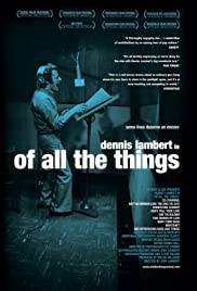 Of All the Things Poster