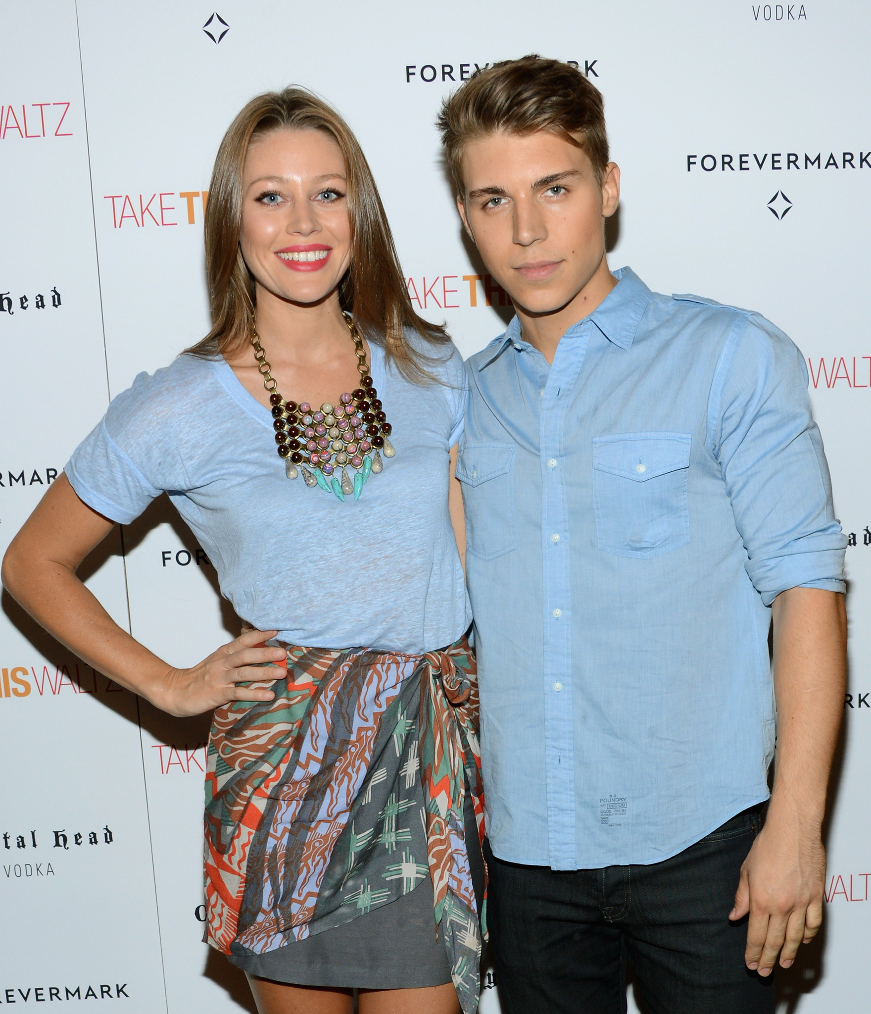 Nolan Gerard Funk at an event for Take This Waltz (2011)