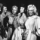 """Ticket To Tomahawk""  M. Monroe, M. Marshall, G. Gilchrist, J. Mackenzie and B. Smith 1950 20th"