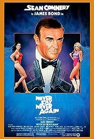 Kim Basinger, Sean Connery, and Barbara Carrera in Never Say Never Again (1983)