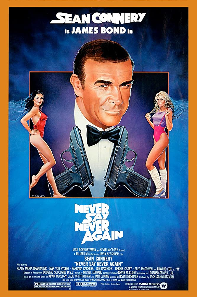 Never Say Never Again (1983) Hindi Dubbed