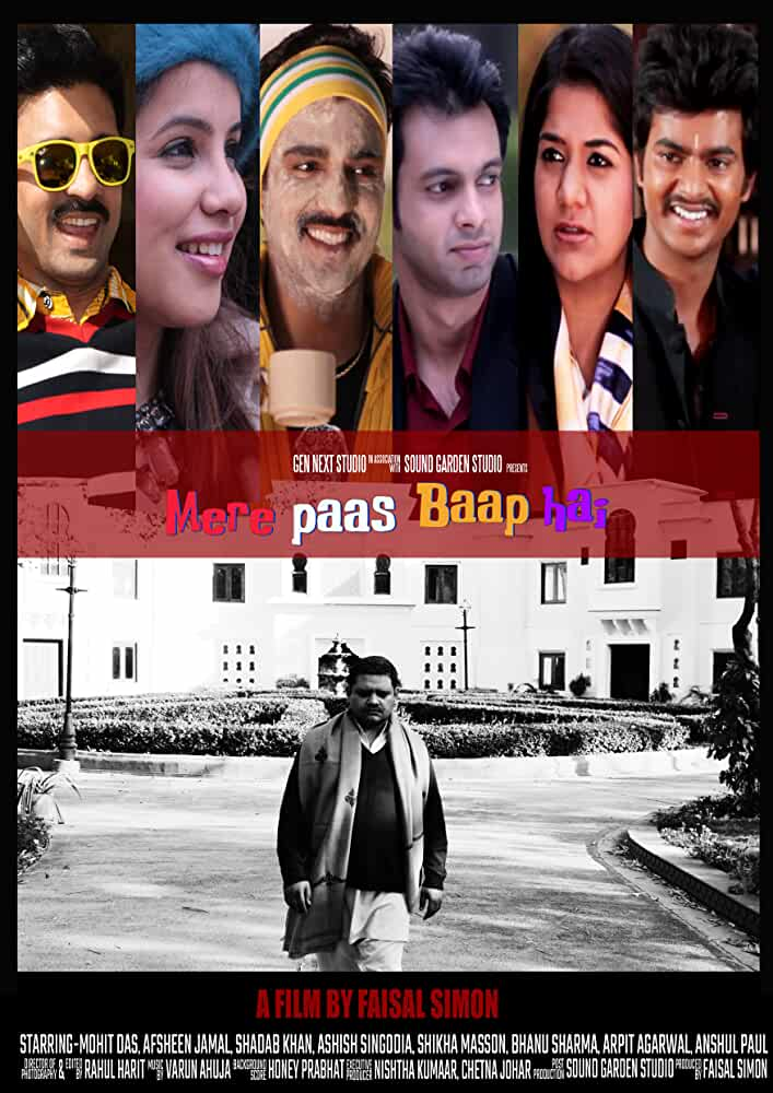 Mere Paas Baap Hai (2018) Hindi 720p HDRip x264 900MB