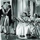 Laurence Olivier, Greer Garson, Bruce Lester, and Karen Morley in Pride and Prejudice (1940)