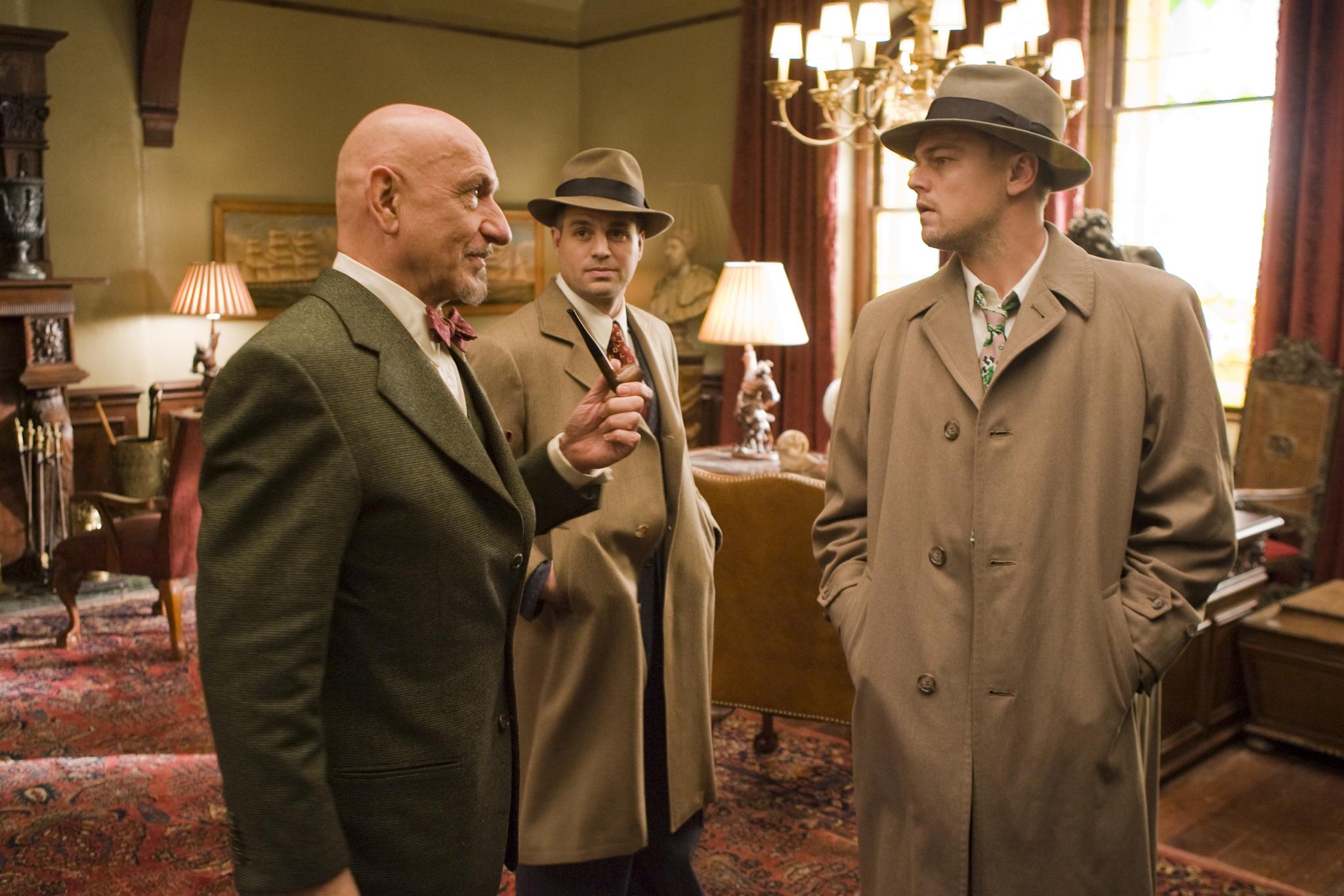 Leonardo DiCaprio, Ben Kingsley, and Mark Ruffalo in Shutter Island (2010)