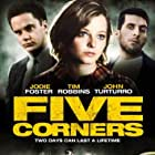 Jodie Foster, Tim Robbins, and John Turturro in Five Corners (1987)