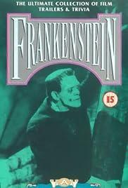 Frankenstein: A Cinematic Scrapbook Poster