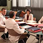 Peter Jacobson, Jesse Spencer, Odette Annable, and Charlyne Yi in House M.D. (2004)