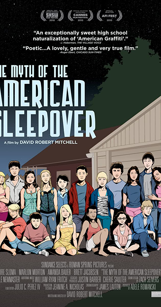 Subtitle of The Myth of the American Sleepover