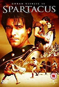 Rhona Mitra and Goran Visnjic in Spartacus (2004)