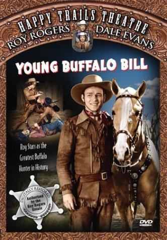 Roy Rogers and Trigger in Young Buffalo Bill (1940)