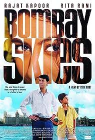 Rajat Kapoor, Rita Rani Ahuja, and Amit Maharudra Salunke in Bombay Skies (2006)
