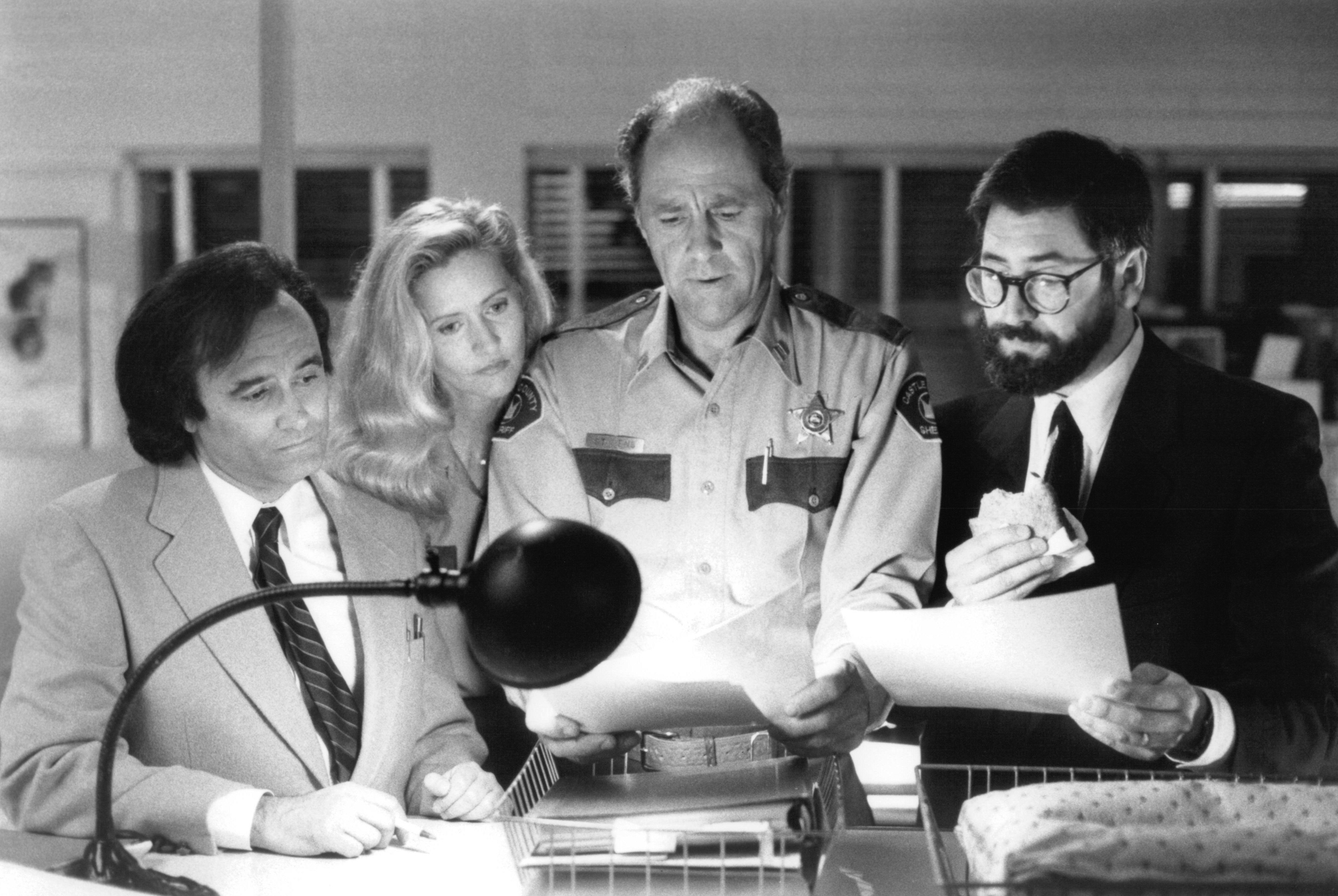 John Landis, Joe Dante, Cynthia Garris, and Jim Haynie in Sleepwalkers (1992)
