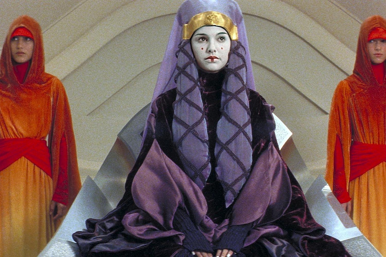 Natalie Portman Karol Cristina da Silva and Keira Knightley in Star Wars Episode I - The Phantom Menace 1999