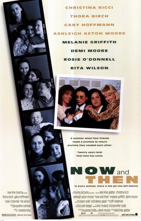 Demi Moore, Christina Ricci, Thora Birch, Melanie Griffith, Gaby Hoffmann, Rita Wilson, Rosie O'Donnell, and Ashleigh Aston Moore in Now and Then (1995)