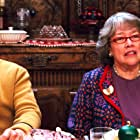 Kathy Bates and Trevor Peacock in Fred Claus (2007)