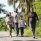 Andy Garcia, Forest Whitaker, Eva Longoria, Drew Davis, and Millie Davis in A Dark Truth (2012)